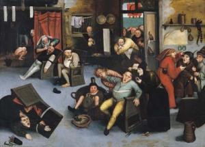 Peter Brueghel Starší, Řezání kamene šílenství, 16. st.