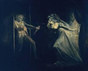 Henri Fuseli, Lady Macbeth vidící nebezpečí, 1812
